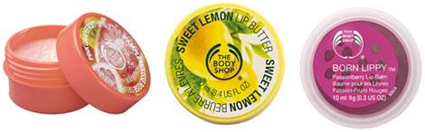 Beurres et Baumes pour les lèvres The Body Shop
