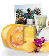 The Body Shop, shopping beauté