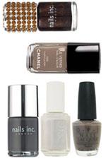 Vernis à ongles, les couleurs tendance