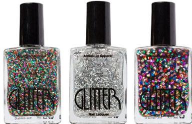 Vernis Glitter American Apparel
