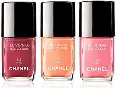 April, May et June, Chanel
