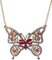 Sautoir papillon Asos
