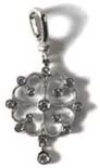 Pendentif or et diamants, Stone