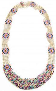 Sautoir en perles multicolores AP Jewels