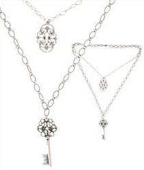 Bijoux fantaisie argent agatha