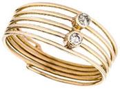 Bague or et diamants Jean-Hugues Chicouri