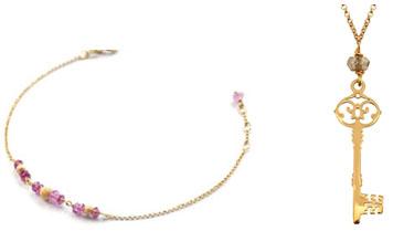 Bracelet et pendentif Perle de Lune