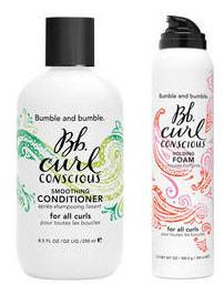 Bumble and bumble, après-shampooing et et mousse coiffante pour toutes les boucles