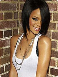 Carré plongeant Rihanna