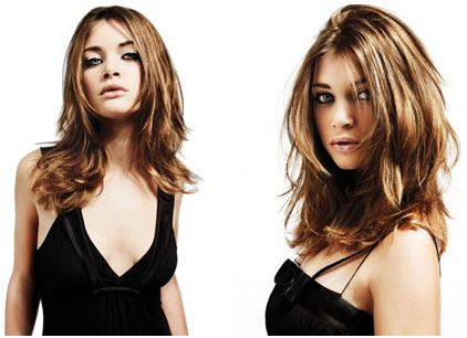 Dégradé de coiffure avec beaucoup de volume Coiffure rapide pour femme