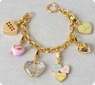 Coffret bracelet et breloques Juicy Couture