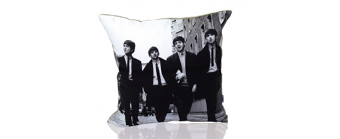 coussin beatles
