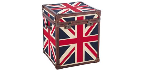 Une d co so british le blog beaut femme - Malle drapeau anglais ...
