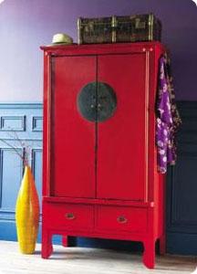 D coration une touche ethnique pleine de couleurs le blog beaut femme - Maison du monde armoires ...