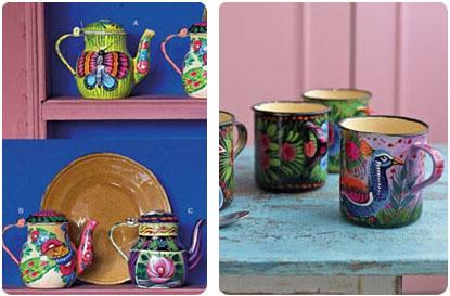 Théières et mugs Plümo