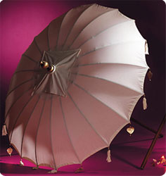 Parasol en coton