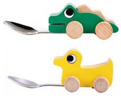 Cuillères jouets pour enfant