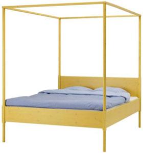 lits baldaquin pour de douces nuits le blog beaut femme. Black Bedroom Furniture Sets. Home Design Ideas
