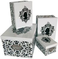 Rangements mettez de l ordre la maison le blog - Boite de rangement carton ikea ...