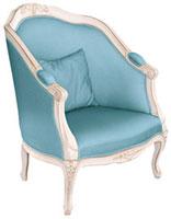 Déco style boudoir, fauteuil La Redoute
