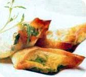 Recette estivale : Croustillants d'aubergine à la mozzarella