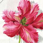 tissu à fleurs