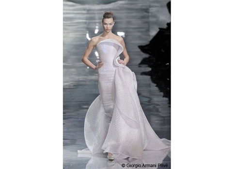 robe de mariée Giorgio Armani