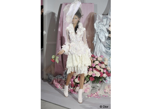 robe de mariée Dior