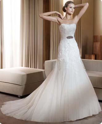 Robe mariage Flauta Pronovias