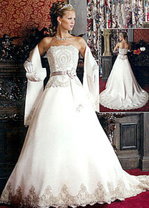 Robe de mariée Oui je le voeux