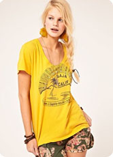Tendance jaune printemps 2012