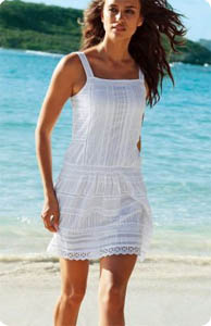 Robe blanc dentelle 3 suisses