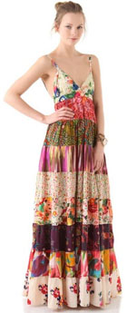 Robe patchwork Free People