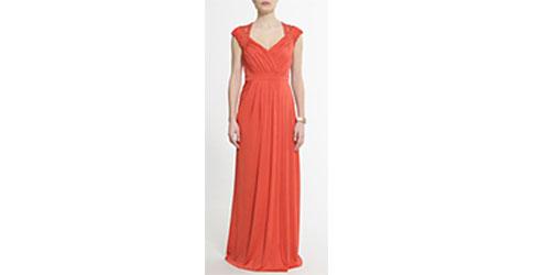 8ee0a33c4d6 robe longue corail Mango