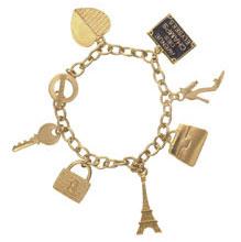 Bracelet breloques Agatha