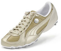 Tennis dorées Puma