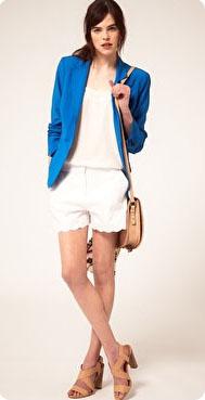 Blazer bleu Kookai