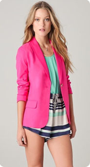 Blazer rose fluo Elizabeth and James
