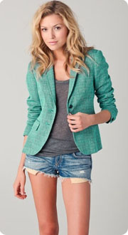 Blazer en tweed rag & Bone