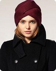 Turban en tricot