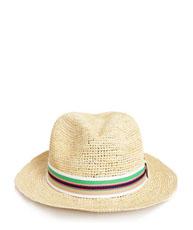 Chapeaux de paille trendy, été 2012