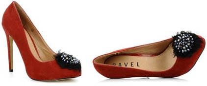 Escarpins bijoux Ravel