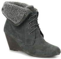 Bottines col en laine XTI