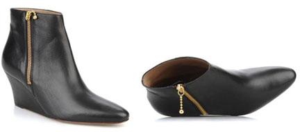 Low boots compensées Avril Gau
