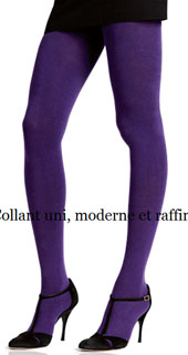 Collants coton coloré Le Bourget