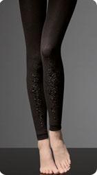 Leggings décorés de strass