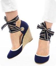 Mes sandales ? Compensées !