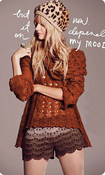 Look crochet Free People