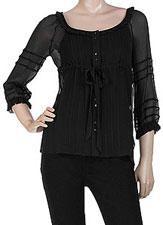 Haut noir Juicy Couture