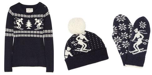 Pull et accessoires en laine Aubin & Wills